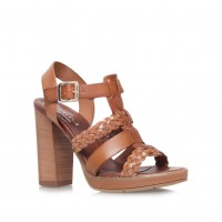 Carvela Women Krill High Block Heel Sandals Upper - Leather Lining - Synthetic Sole - Synthetic D579854 PSTFICA