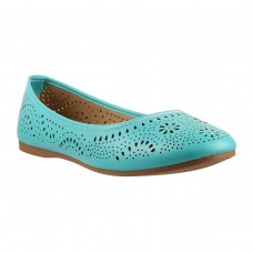 Women Metro 31-6766-Light-blue Casual Ballerinas Slip On Flats GPJGXBI