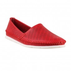Women Metro 31-6843-Red Casual Ballerinas Slip On Flats GAZPNKY