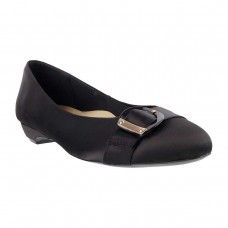 Women Metro 31-7043-Black Formal Ballerinas Slip On Flats JBYEFLJ