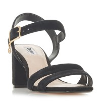 Dune Women Meggan Block Heel Sandals Medium Heel D891091 WPDECOA