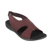 Women Metro 33-268-Brown Casual Sandals Back Strap Flats JOEUDGS