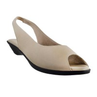 Women Metro 33-8838-Beige Casual Sandals Slip On Flats VPZMQCH