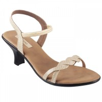 Women Metro 33-8933-Beige Casual Sandals Slip On Kitten KTSRNKI