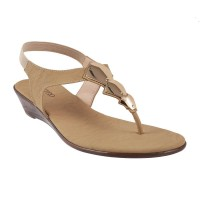 Women Metro 33-9560-Beige Casual Sandals Slip On Wedges FDMLHLH