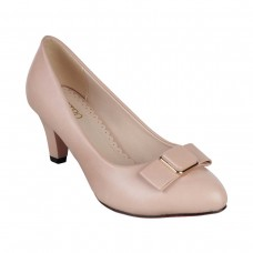 Women Metro 31-7302-Pink Formal Pumps Slip On Kitten UDICTPX