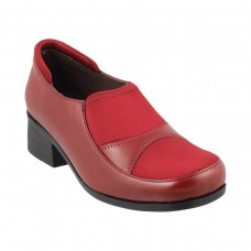 Women Metro 31-8519-Red Casual Pumps Slip On Block CBUIERC