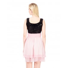 After Dark Party Dress Regular IN1445MTODREPNK-138 OERIWFX