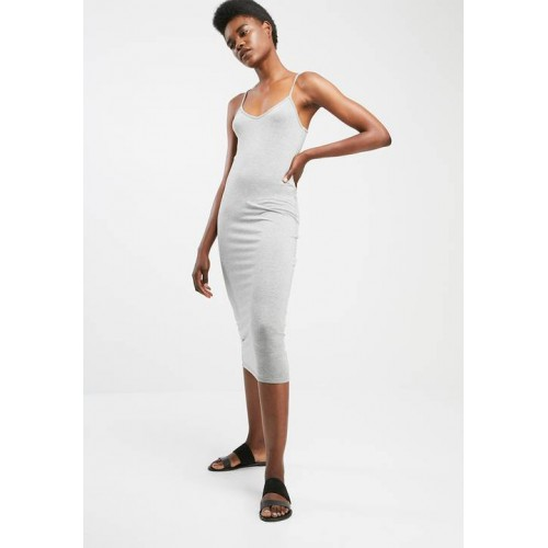 dailyfriday Women Midi cami dress Grey HODVHRB
