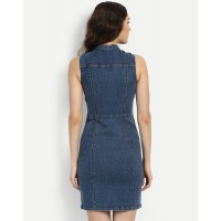 Denim Antlia Bodycon Dress Skinny Denim Mini Bodycon Dress IN1715MTODREBLU-428 CJOKVAO