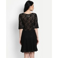 Get Laced Dress Regular Lace Mini Skater Dress IN1432MTODREBLA-335 EUGAYVF