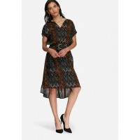 Vero Moda Women Mingus dress Black Brown Green & Blue PNLDDBE