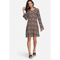 Vero Moda Women Sunny dress Navy Brown & White RNNOJKR