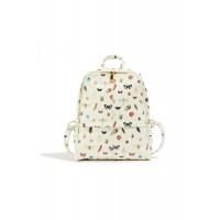 Oasis Women Natural History Museum Backpack Outer : Polyurethane 100% Lining : Polyester 100% D917128 NPYOQSZ
