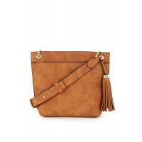 Warehouse Women Tassel Pocket Detail Crossbody Shoulder straps D878308 TDWQFVI