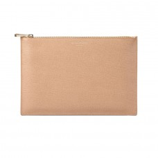 Aspinal of London Women Essential Flat Pouch Leather D548030 OZSTTNV