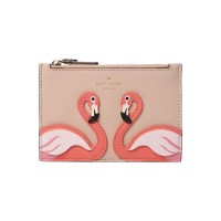 Kate Spade New York Women By The Pool Flamingo Marely Coin Purse Plain D888471 UQHDDGP
