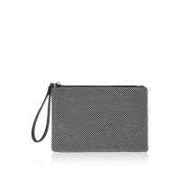 Label Lab Women Ball Chain Pouch Embellished D841222 AOGHFFY