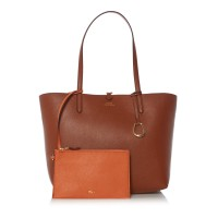 Lauren Ralph Lauren Women Merrimack Medium Tote Plain D872737 TFUKIRZ