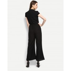 Black Andra Wide Leg Jumpsuit Wide Leg & Flare IN1705MTOJUMBLA-305 JYUYOJS