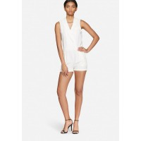 Vero Moda Women Mer playsuit White EEDXSCB