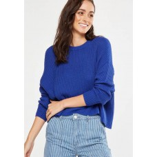 Cotton On Women Archy cropped pullover Blue DVSICFK