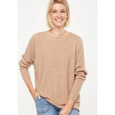 Cotton On Women Batwing lounge pullover - beige Beige CDSZJKE