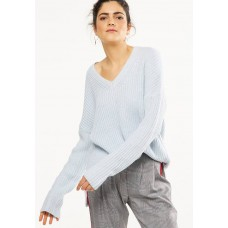 Cotton On Women Willa v-neck pullover - blue Blue ZQXNKQX