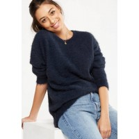 Cotton On Women Winnie relaxed crew pullover Navy RYUYNRI