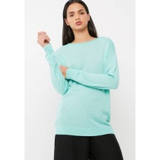 dailyfriday Women Crew neck slouchy knit Mint HGPICRM