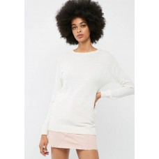 dailyfriday Women Crew neck slouchy knit White XCCGLHP