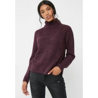 Jacqueline de Yong Women Justy sweater Purple KBHRCOE