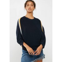 ONLY Women Nicole sweater Navy White & Mustard WOMQSUX