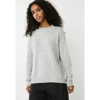 Vero Moda Women Duarte knit - light grey marle Grey GWRBSKI