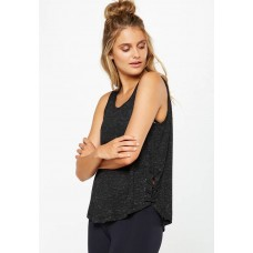 Cotton On Women Lace up tank top Black NOJNUPQ