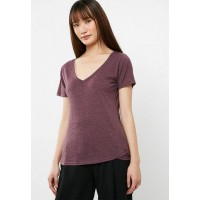Cotton On Women The deep v Dark Purple NAJEIEI