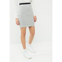 Jacqueline de Yong Women Dusty skirt Grey Melange NGUUYGI