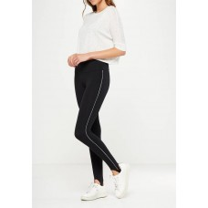 Cotton On Women Dakota detail legging Black VIWHJDR