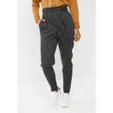 dailyfriday Women Paper bag trouser - black Black & White UNJHQJG
