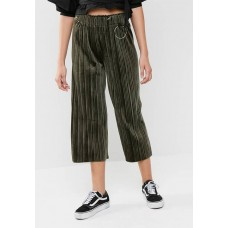 dailyfriday Women Velvet culotte Green VUAIBQH